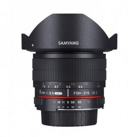 Objectif fisheye Samyang 8mm AE compatible avec Nikon F