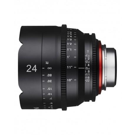 Samyang Xeen 24mm T1.5 Canon EF / Echelle en Pieds