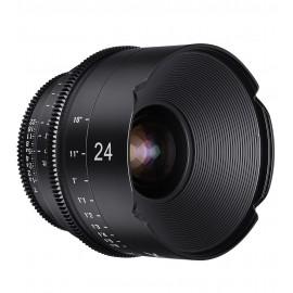 Samyang Xeen 24mm T1.5 Sony E - Échelle en Pieds