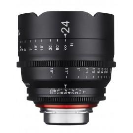 Samyang Xeen 24mm T1.5 Sony E / Echelle en mètres