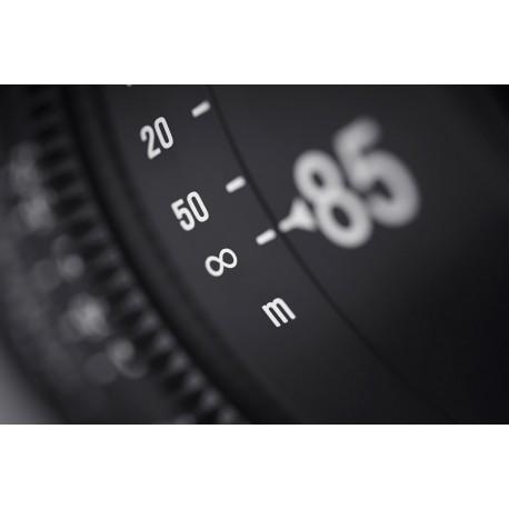 Samyang Xeen 85mm T1.5 Canon EF / Echelle en mètres