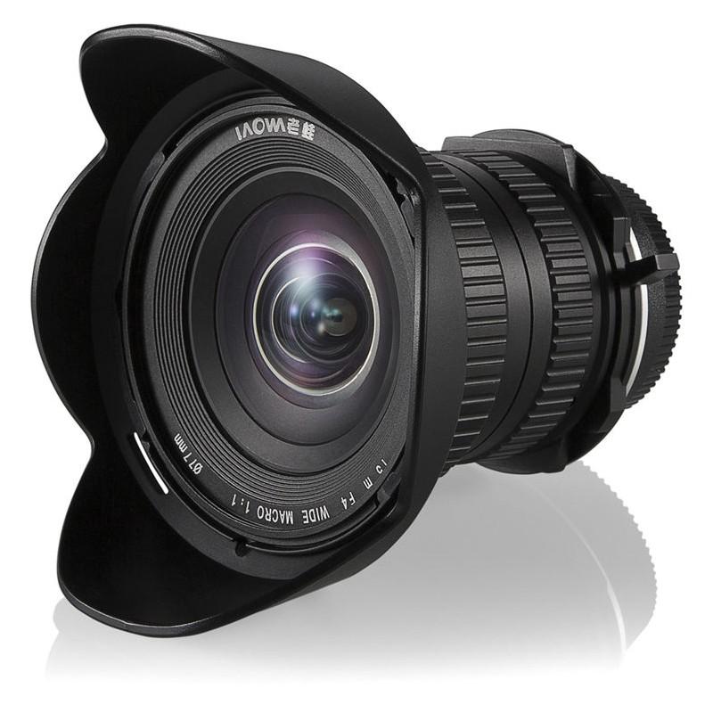 Objectif Laowa 15mm F 4 Grand Angle Macro Nikon Ve1540n