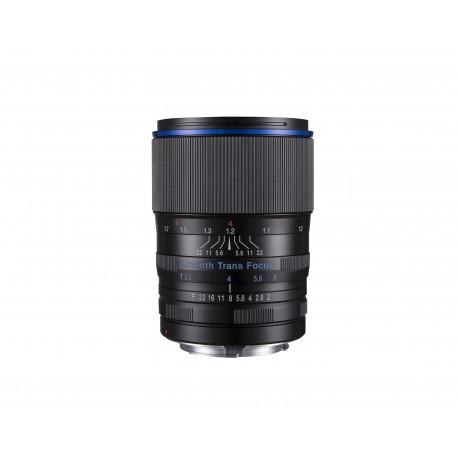 Laowa VE10520N, monture Nikon, plein format FX, focale 105mm, mise au point manuelle (pas d'autofocus)
