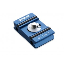 Platine Novoflex Q slim 25x39mm