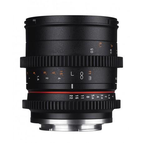 SAM50T13SONYE - Objectif Samyang 50mm T1.3 Cine Sony E- 8809298884680