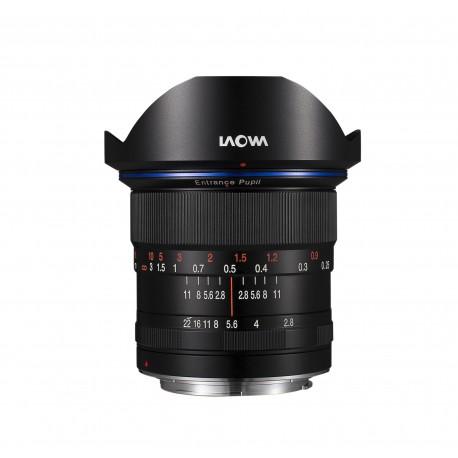 VE1228SFE, objectif grand angle, Monture Sony FE, focale 12mm, ouverture F2.8, mise au point manuelle MF (pas d'autofocus)