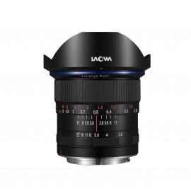VE1228N, objectif grand angle, Monture Nikon, focale 12mm, ouverture F2.8, mise au point manuelle MF (pas d'autofocus)