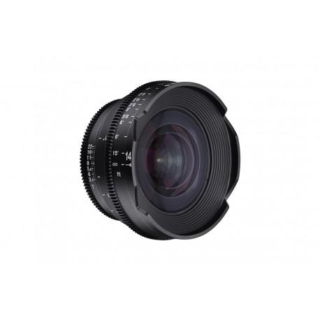 Objectif vidéo Xeen 14 mm T3.1 Canon EF Echelle en mètres