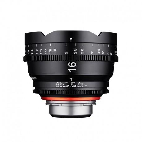 Optique vidéo Xeen 16 mm T2.6