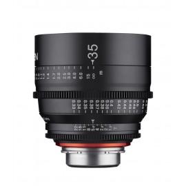 Objectif vidéo Xeen 35 mm T1.5 Sony FE - Échelle en mètres
