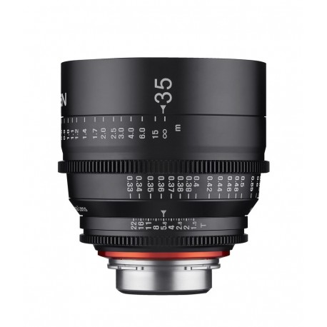 Objectif vidéo Xeen 35mm T1.5 Arri PL - Échelle en PIED