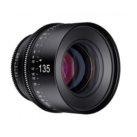 Objectif vidéo Xeen 135mm T2.2 Canon EF / échelle en PIED (ft)
