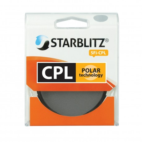 Filtre objectif 58mm Polarisant Circulaire Starblitz