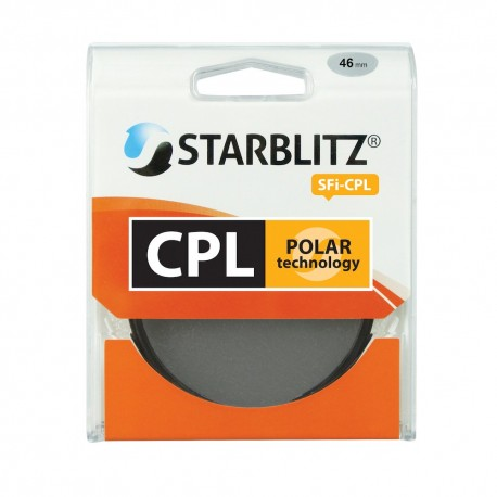 Filtre objectif 46 mm Polarisant Circulaire Starblitz