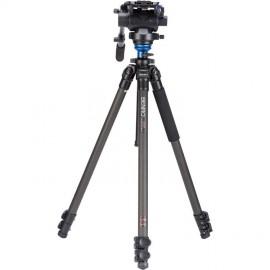 C2573FS6 Kit trépied vidéo carbone avec rotule S6 Benro