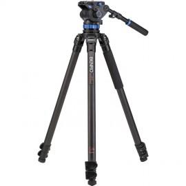 C373FBS7 Kit trépied vidéo carbone avec rotule S7 Benro