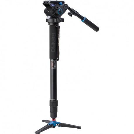 Benro A48TDS6 Kit monopied vidéo aluminium avec rotule S6