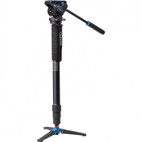 Benro A48TDS4 kit monopied vidéo avec rotule S4