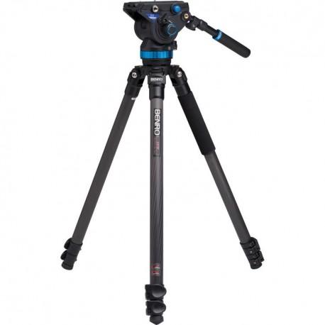 C373FBS8 Kit trépied vidéo carbone avec rotule S8 Benro