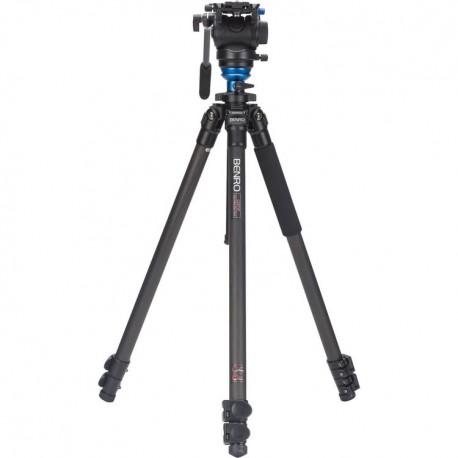 C2573FS4 Kit trépied video carbone avec rotule S4 Benro