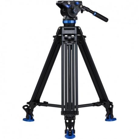 A673TMBS8 Kit Trépied vidéo double jambage avec rotule S8