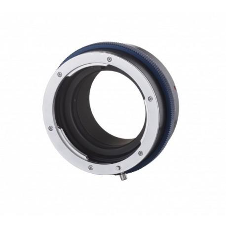 Bague mécanique adaptatrice Novoflex Micro 4/3 pour objectifs Nikon Ref MFT-NIK