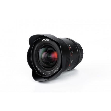 VE1228A, objectif grand angle, Monture Sony A, focale 12mm, ouverture F2.8, mise au point manuelle MF (pas d'autofocus)