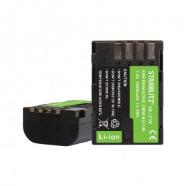 Batterie compatible Panasonic DMW-BLF19 Batterie rechargeable Lithium-ion