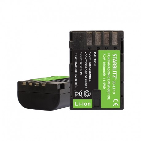 Batterie rechargeable Lithium-ion compatible Panasonic DMW-BLF19