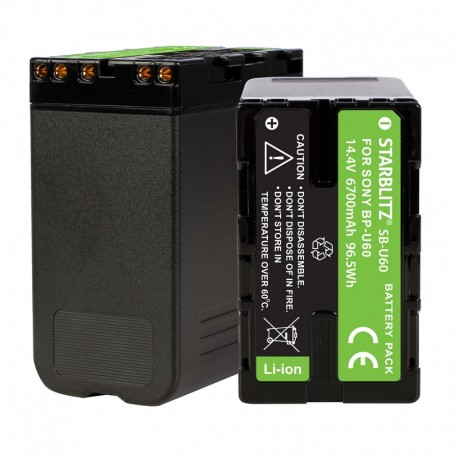 Batterie Starblitz rechargeable compatible Sony BP U60
