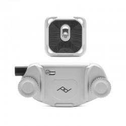 Peak Design CPS3 Capture clip argent avec plateau standard