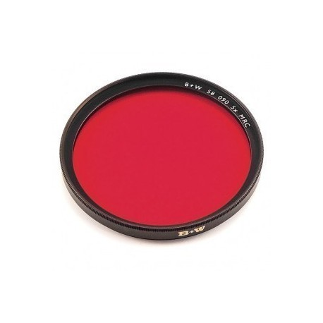 Filtre B+W 090 rouge clair Multicouches F-PRO 86 mm