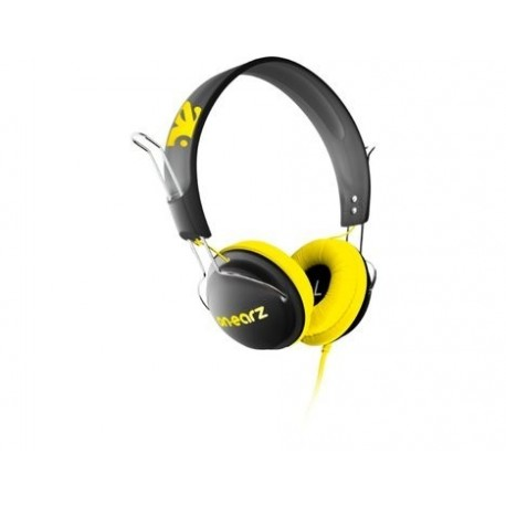 Casque On.Earz Lounge Noir/Jaune