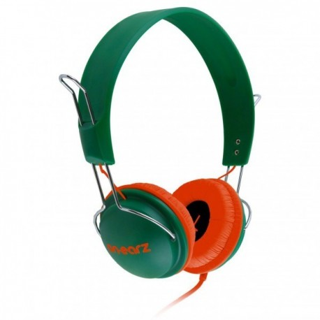 Casque On.Earz Lounge Vert/Rouge