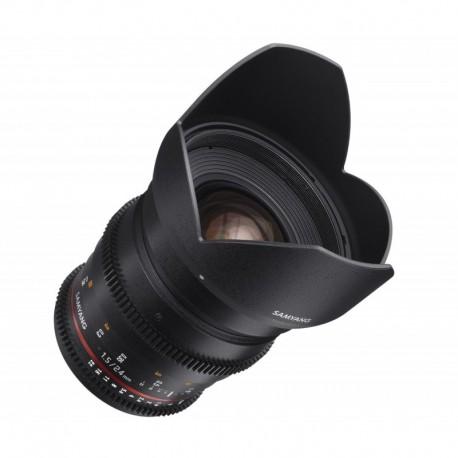 Objectif Samyang 24 mm T1.5 VDSLR Nikon