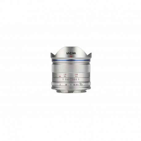 Objectif Laowa 7.5mm F2 Micro Quatre Tiers Coloris Argent