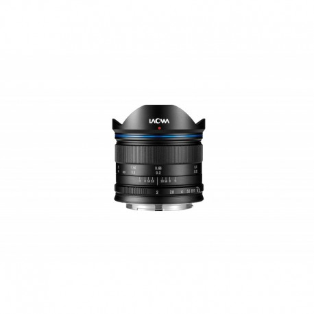 VE7520MFTSTBLK, objectif grand angle, Monture Micro 4/3, focale 7,5mm, ouverture F2, mise au point manuelle MF (pas d'autofocus)