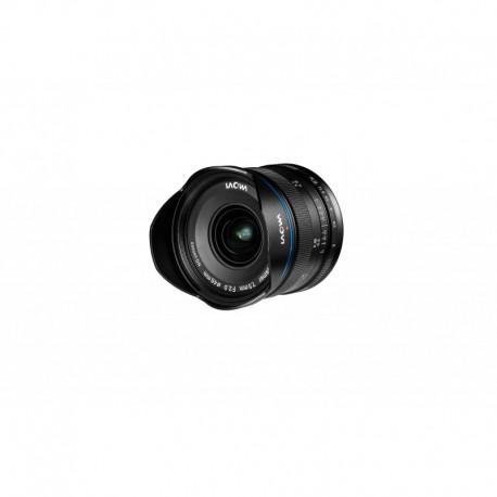 VE7520MFTLWBLK, objectif grand angle, Monture Micro 4/3, focale 7,5mm, ouverture F2, mise au point manuelle MF (pas d'autofocus)