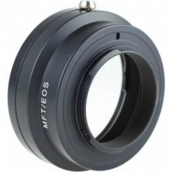 Adaptateur optique manuelle monture EF pour boîtier Micro 4/3