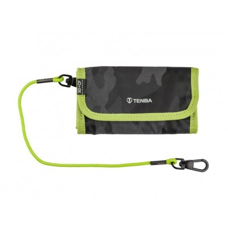 Tools Reload SD6+CF6 Card Wallet Noir Camo/Lime