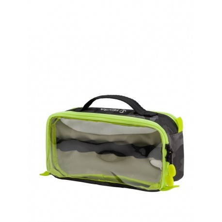 Tools Cable Duo 4 Cable Pouch Black Camo Lime Tenba