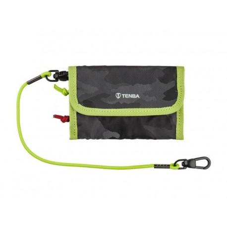 Tools Reload Universal Card Wallet Noir Camo Lime TENBA