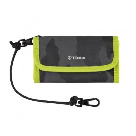 Tools Reload SD 9 Card Wallet Noir Camo Lime TENBA