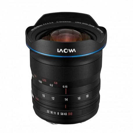 Zoom grand angle Laowa 10-18mm F4.5-5.6 FE