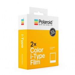 Pack 2 x 8 Color Film pour i-Type Polaroid ORIGINALS