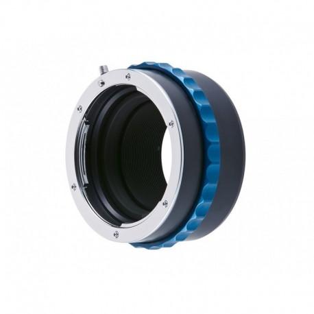 Bague adaptatrice optique Nikon F sur boîtier Nikon Z