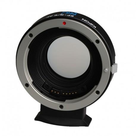 Réducteur de focale Baveyes 0.7x AF optique Canon EF sur boitier Sony E