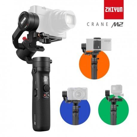 Zhiyun Crane M2 Stabilisateur Gimbal 3 Axes Portable 3 en 1