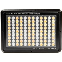Studio Litra LED multicolore dimmable avec indice CRI 97