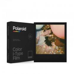8 poses couleur cadre noir pour appareils Polaroid i-Type